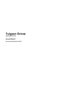 Tulgeen Group 2014 Annual Report