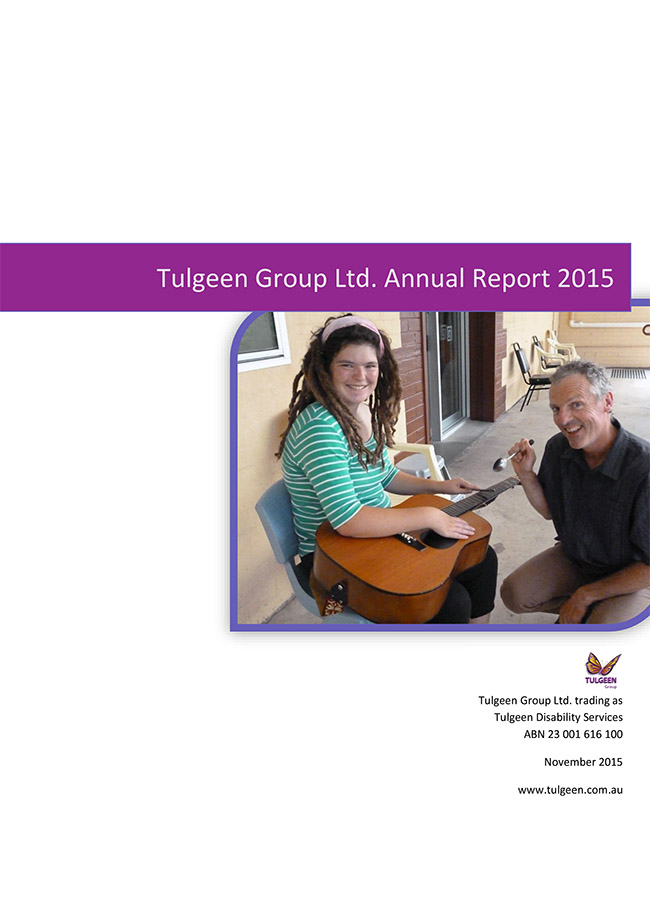 Tulgeen Group 2015 Annual Report
